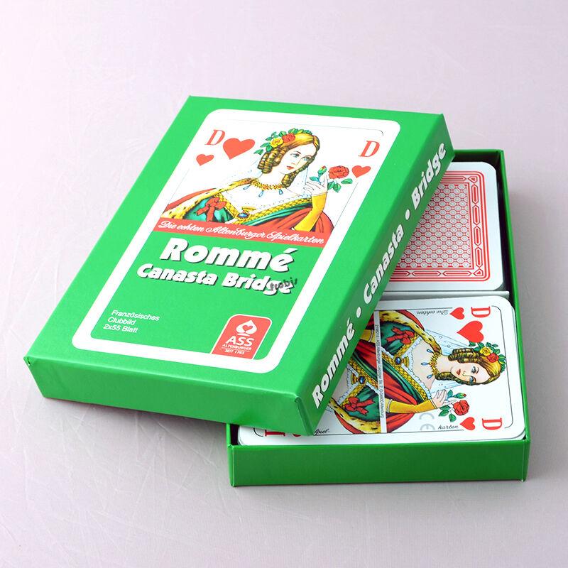 5 Romme Canasta Bridge Club Kartenspiele Französisches Bild, Spiele von Frobis  | Neu