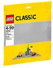 LEGO Classic 48x48 Grey Baseplate - 10701