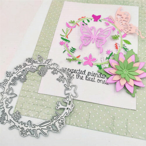 Wreath  metal paper die Cutting dies Scrapbooking DIY Educational toy Die Cut