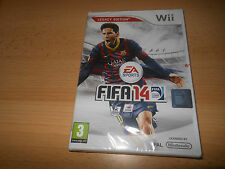 Fifa 14 Nintendo Wii new sealed  pal version