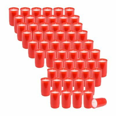 Forte 60 Pezzi Premium Tomba Luci, Pannelli Composizione Olio-luci, N. 3, Rosso- Imballaggio Di Marca Nominata