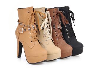 Zapatos especiales con descuento stivali stivaletti bassi nero beige marroni eleganti  comodi 12 simil pelle 9398