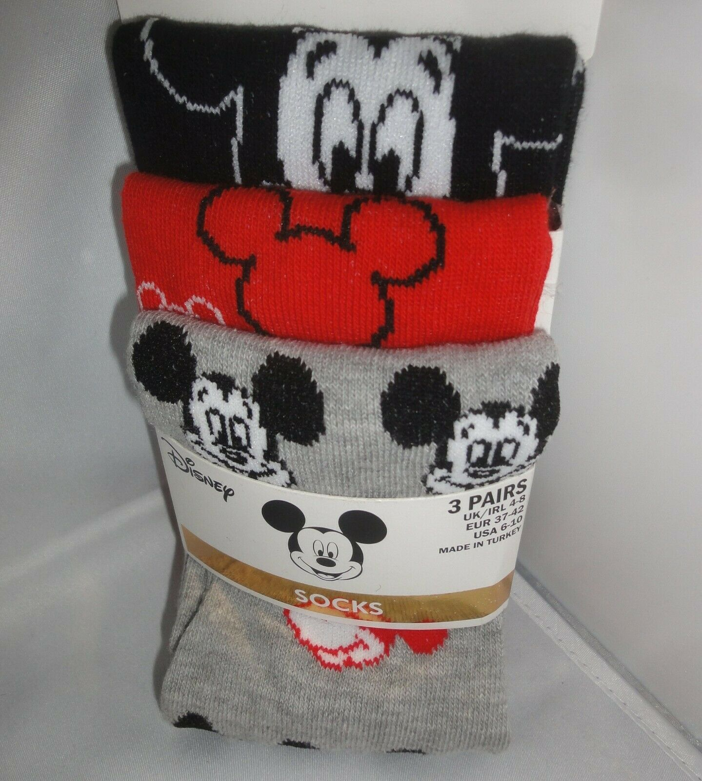 Mickey Maus Minnie Mouse Disney Socken Damen Strümpfe lang 37-42 Kindersocken