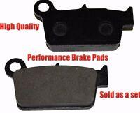 Yamaha Wr450f Rear Brake Pads Racing Pro Factory Braking 2003-2011 on sale