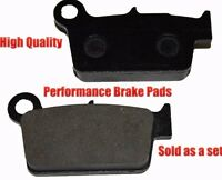 Yamaha Wr450f Rear Brake Pads Racing Pro Factory Braking 2003-2011 on sale