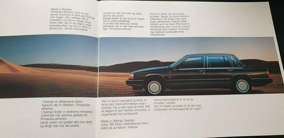 Brochure, Volvo 760