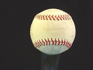 7 Time All Star Billy Pierce Signed Major League Baseball-guaranteed Authentic