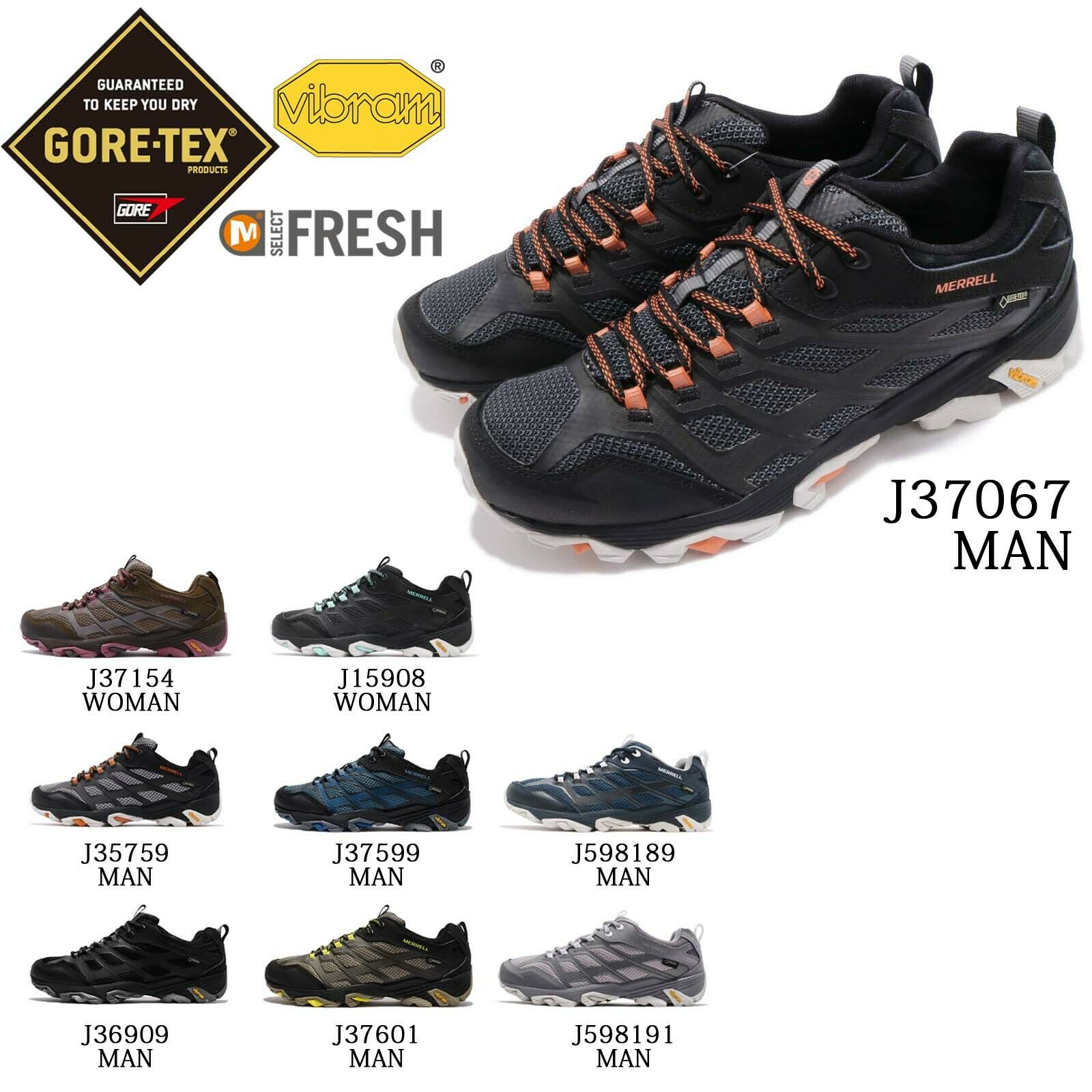 Merrell Moab FST GTX Gore-Tex Vibram Men mujer Outdoors Hiking Trail zapatos Pick 1