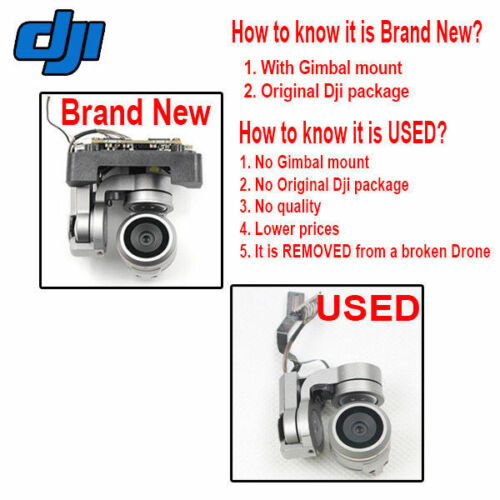Genuine New DJI MAVIC PRO Gimbal Camera 4K 1080P FPV Video Repair Parts Drone