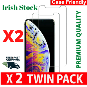 Screen protector for iPhone 6 7 8 PLUS X XS XR 11 pro Max Tempered glass Clear