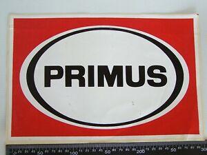 VINTAGE-PRIMUS-OUTDOOR-AUSTRALIA-ADVERTISING-SHOP-POS-PROMO-STICKER-COMPANION