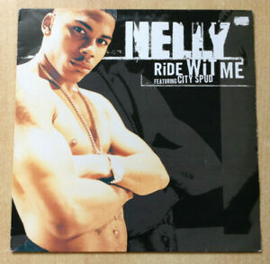 Maxi-33-Rpm-Nelly-Vinyl-Ride-wit-Me-Feat-City-Stupid-Techno-Electro-Universal