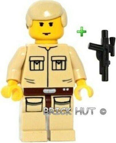 10123-2003 NEW LEGO STAR WARS LUKE SKYWALKER CLOUD CITY FIGURE ULTRA RARE