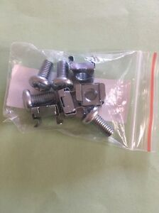 ROOF-RACK-CLAMP-M6-CAGE-NUTS-4-POSTED-FREE-Suits-RHINO-RSS-ROLA-RM-RMX