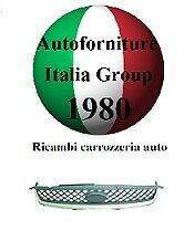 GRIGLIA ANTERIORE CROMATA FORD FIESTA 05/>08 DAL 2005 AL 2008