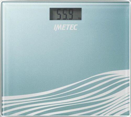 5120 Bilancia Pesapersone Digitale Imetec 150 Kg Display LDC Col Blu BS5 500