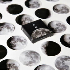 45Pcs/box DIY Vintage Mini Paper Sticker Cute Moon Diary Scrapbooking Label New
