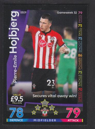 Match Attax-on Demand 2018//19-159 Pierre-Emile hojbjerg-Southampton