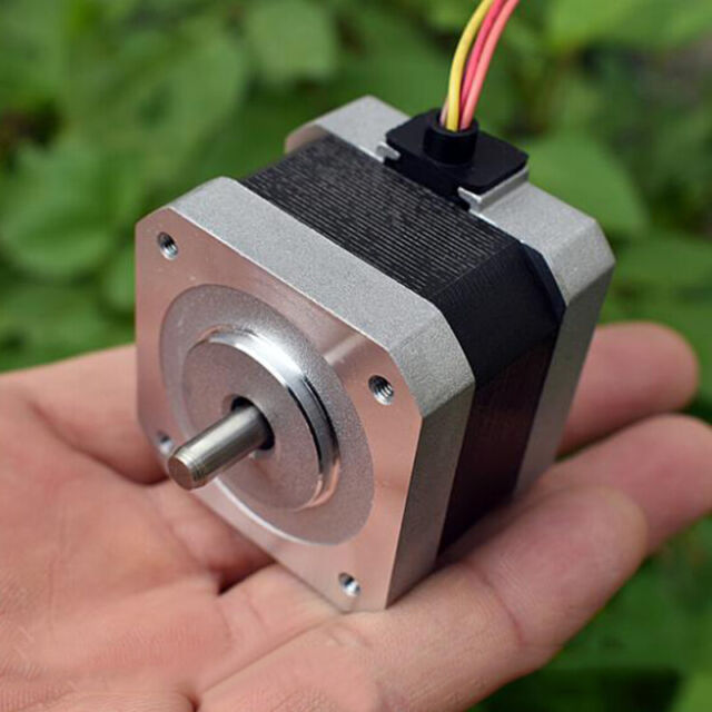 42mm 0.9 Deg NEMA17 2-Phase 4-Wire Stepper Motor 5mm Shaft 3D Printer CNC Robot