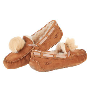 ab2a447ace3 Image is loading UGG-Australia-Dakota-Pom-Pom-Slipper-Womens