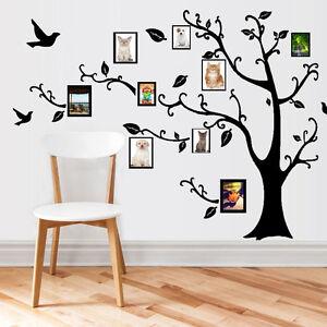 Removible pegatina de pared rbol marco fotos vinilo for Pegatinas vinilo decoracion