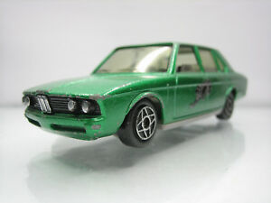 Diecast-Dinky-Toys-BMW-530-No-1404-Green-Good-Condition