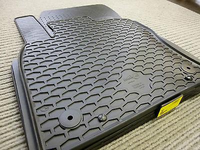 NEU Rand ORANGE Original Lengenfelder Fußmatten passend für VW Touran I T1