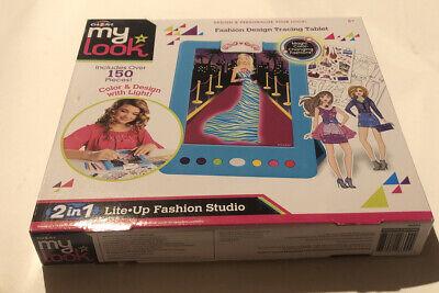 Cra Z Art My Look Fashion Design Tracing Tablet 2in1 Lite Sup Fashion Studio 884920466944 Ebay