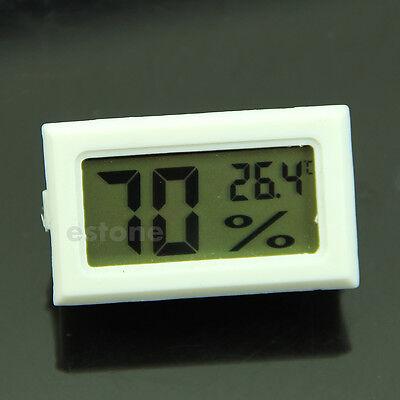 Hot Mini Digital LCD Indoor Temperature Humidity Meter Thermometer Hygrometer