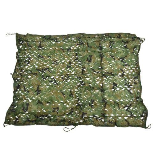 Filet De Camouflage 2 M X 1,5 M Tir Cacher Armée Camouflage Chasse H3T6