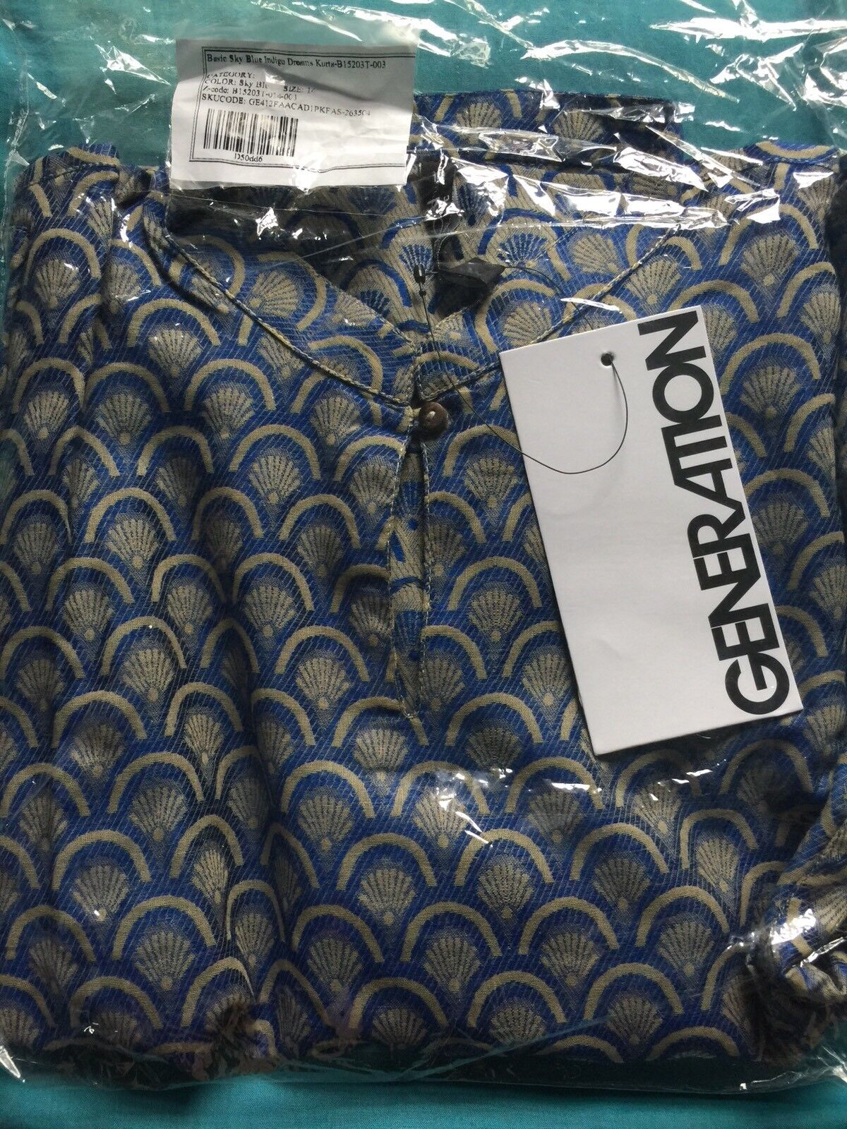 Generazioni pronti da indossare Kurta Kurta Kurta Taglia 14 Con Etichette Nuovo di Zecca 142619