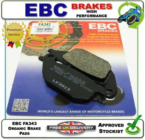 EBC HH Rear Brake Pads For Honda 2005 XL125V Varadero