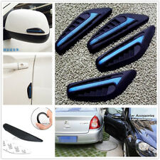 4 x Blue SUV Car Door Bumper Anti-rub Strips Exterior Protector Crash Bar Strip