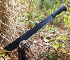 "23"" SURVIVAL HUNTING JUNGLE MACHETE KNIFE w/ SHEATH Military Fixed Blade Sword"