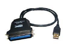 NUOVO USB un maschio A PARALLELA CENTRONICS 36 VIE Cavo Adattatore Convertitore Video