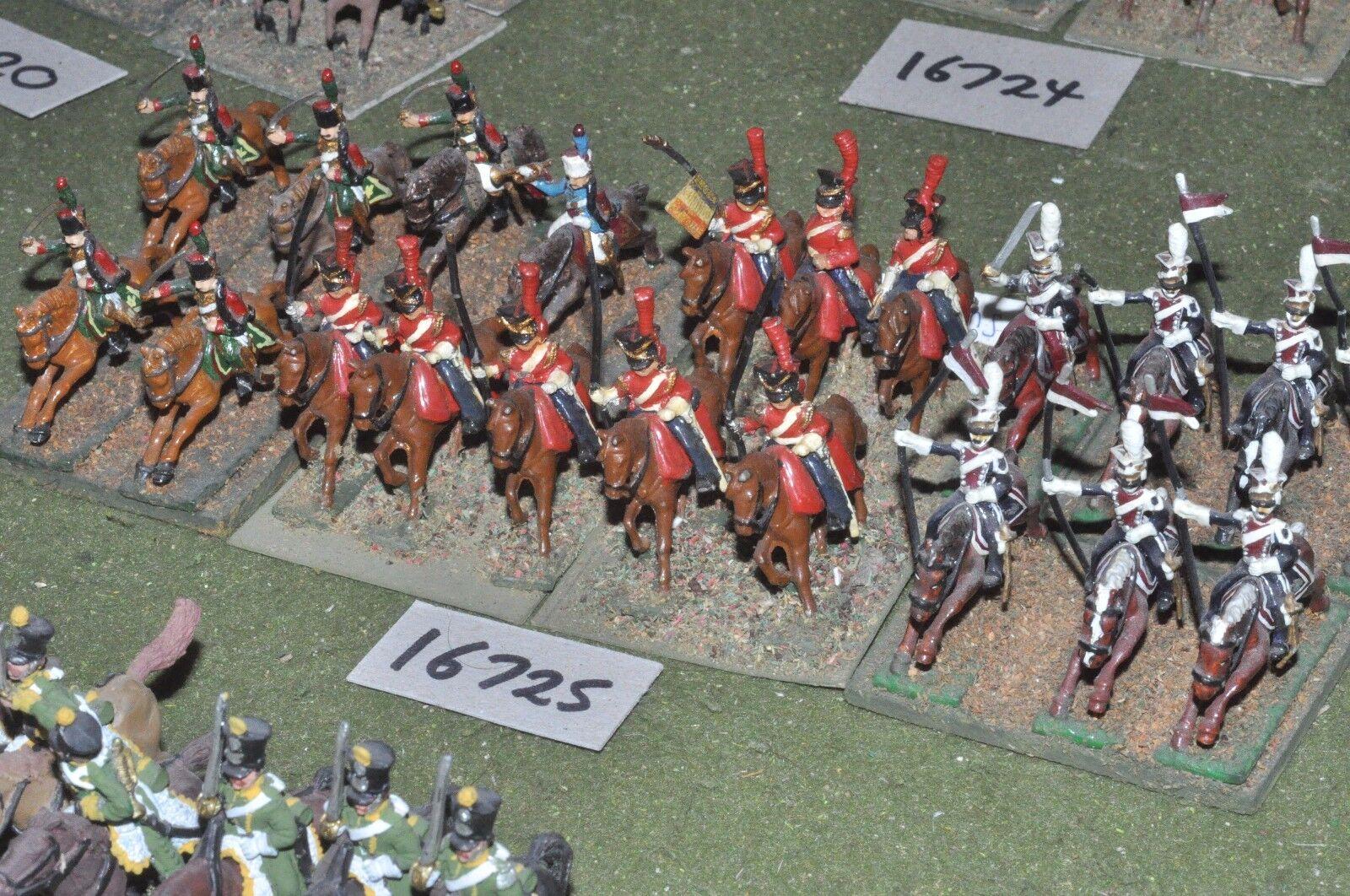 25mm napoleonic   french - guard cavalry 21 cavalry - cav (16725)