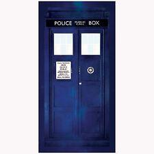 DOCTOR WHO TARDIS LARGE BEACH BATH TOWEL NEW DR