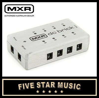 mxr dunlop dc brick guitar pedal 9v 18v power supply m237 new 710137057777 ebay. Black Bedroom Furniture Sets. Home Design Ideas