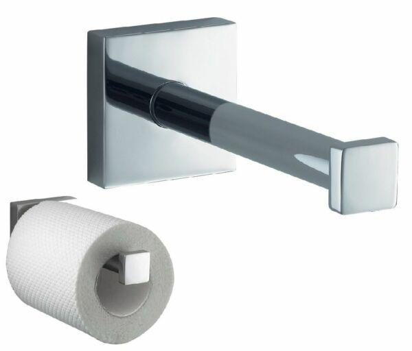 100% Kwaliteit Haceka Mezzo Chrome Reserve Papierhalter Papierrollenhalter Metall Rostfrei