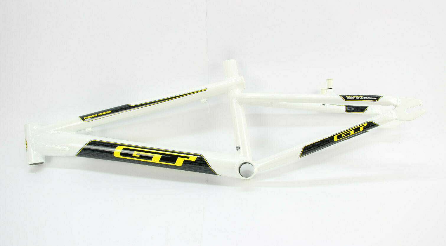 GT Bicycles Power Series Pro 20 Zoll Rahmen   NEU   BMX Race Frame BSA white