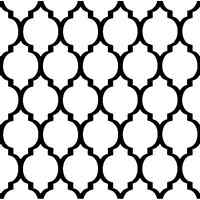 Casablanca Stencil Design - Craft Template- By Cutting Edge Stencils
