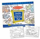 Melissa and Doug 50 Pages of Jumbo Coloring Pad - Blue 4226