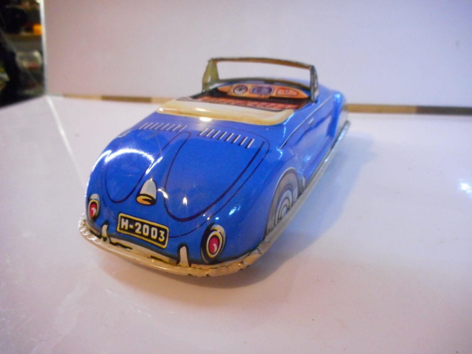 COX JOYAX VW VOLKSWAGEN COCCINELLE JOUET TOLE CAR CAR CAR TIN TOY  BEETLE KAFER FRICTION 1ad970