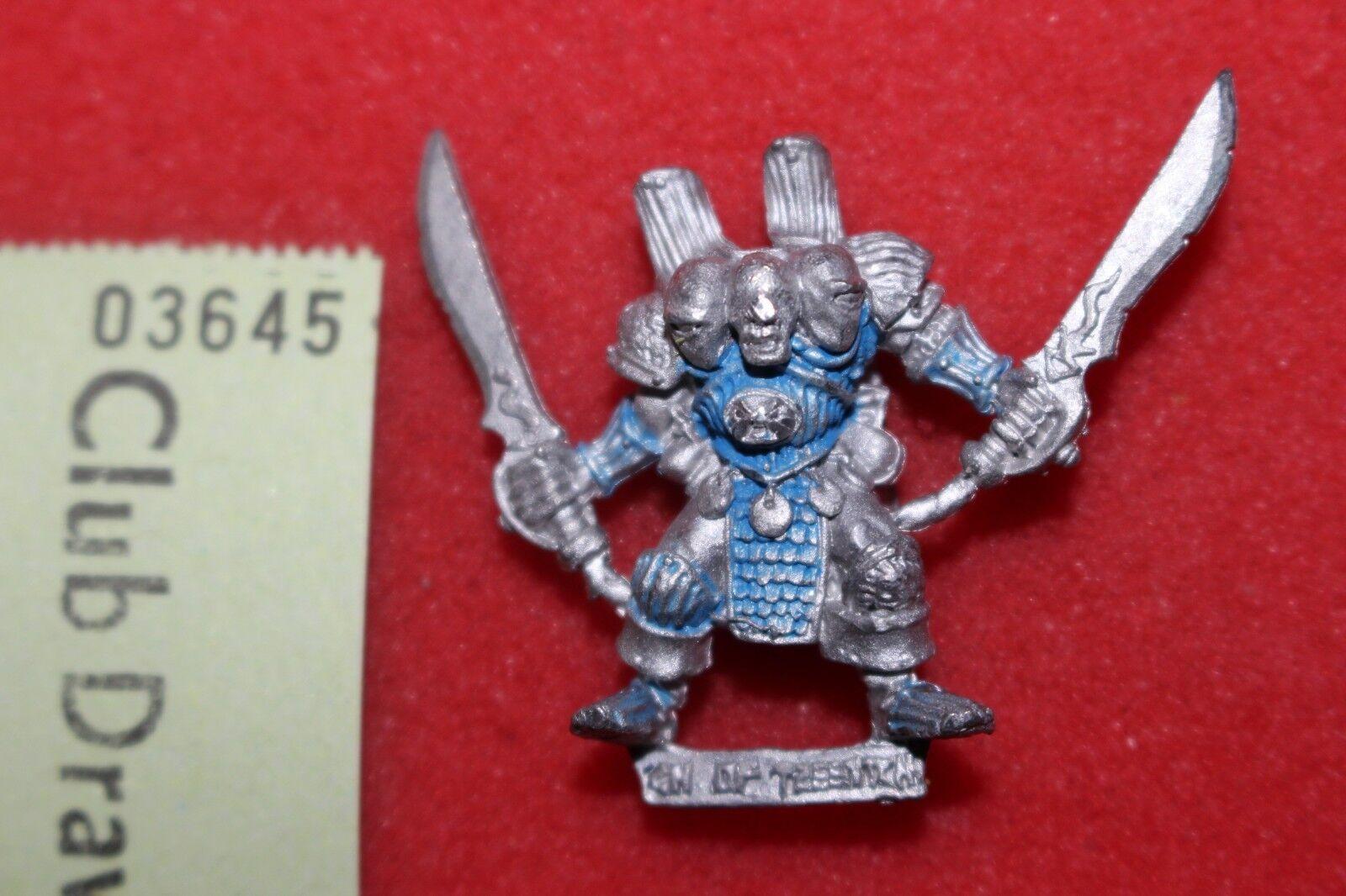 Games Workshop Warhammer Chaos Champion of Tzeentch Citadel Metal Swords 1980s