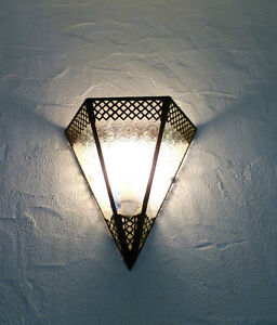 applique-murale-Marocaine-fer-forge-lampe-lustre-x3-lanterne-decoration-oriantal