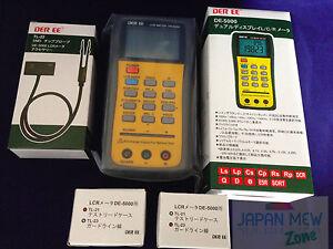 DER-EE-DE-5000-High-Accuracy-Handheld-LCR-Meter-w-TL-21-TL-22-amp-TL-23-NEW