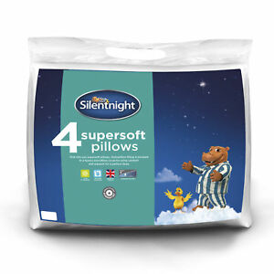 Silentnight-Luxury-Supersoft-Microfibre-Covered-Washable-Pillows-4-Pack