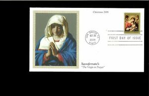 2009-FDC-Christmas-Madonna-amp-Child-San-Simeon-CA