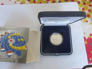 ITALIE - 10 Euro - 2007 50eme anniv.Traité Rome TIRAG 20 504 ARGENT BE PROOF CPS