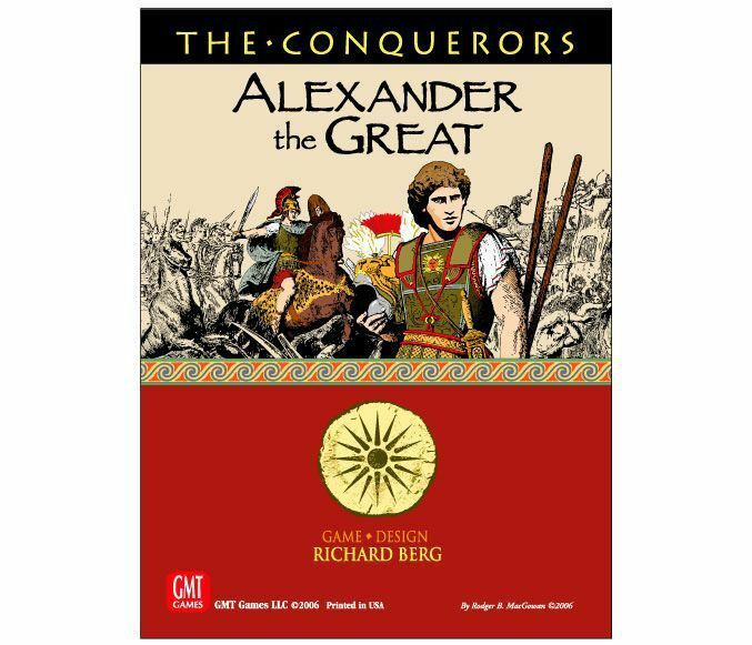 The Conquerors - Alexander the Great - GMT - New in Shrink